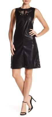Tart Vela Faux Leather Dress