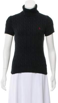 Ralph Lauren Sport Short Sleeve Cable-Knit Sweater