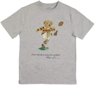 Ralph Lauren BEAR PRINT COTTON JERSEY T-SHIRT