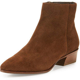 Aquatalia 40MM FIRE SUEDE ANKLE BOOT