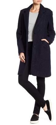 Andrew Marc Paige Wool Blend Coat