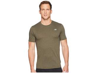 New Balance Heather Tech Short Sleeve Men's T Shirt