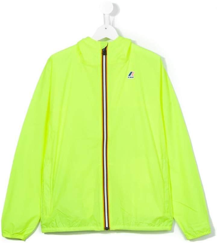 K Way Kids fluorescent jacket