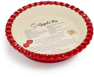 Martha Stewart Collection Ceramic Apple Pie Dish, Created for Macys