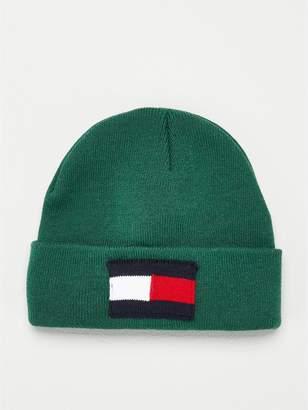 Tommy Hilfiger Flag Beanie - Green
