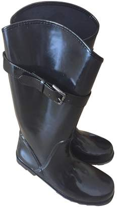GUESS Black Rubber Boots