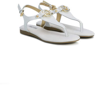 Michael Kors Kids T-bar logo sandals