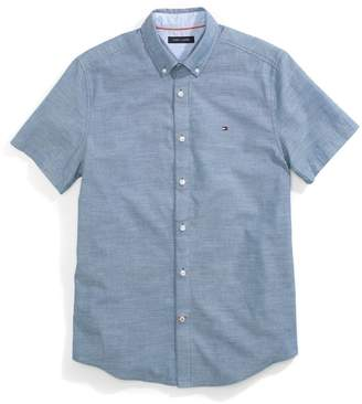 Tommy Hilfiger Custom Fit Short-Sleeve Shirt