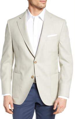 Peter Millar Hyperlight Classic Fit Solid Wool Sport Coat