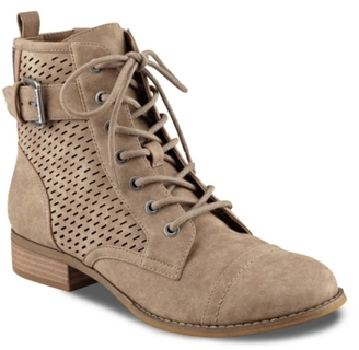 G by GUESS Atkin Combat Boot $79 thestylecure.com
