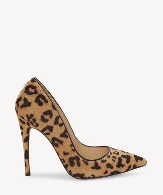Vince Camuto Women's Treesha2 In Color: Leopard Shoes Size 5 Hair Calf Fur From Sole Society