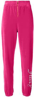 Juicy Couture Swarovski Personalisable Velour Track Pants