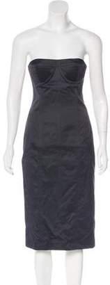 Gucci Strapless Mini Dress