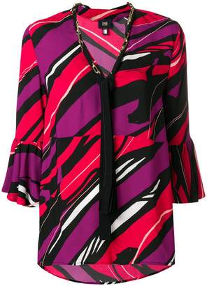 Class Roberto Cavalli graphic print blouse