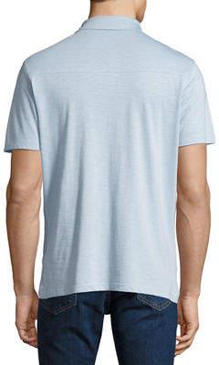 Robert Barakett Men's Foster Three-Button Polo Shirt