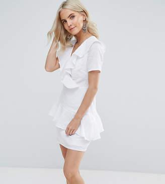 Fashion Union Petite Ruffle Detail Dress