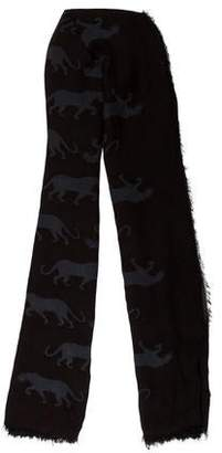 Marc by Marc Jacobs Woven Printed Scarf