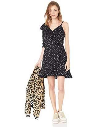 Jack by BB Dakota Junior's Hotline Bling Polkadot CDC One Sleeve Dress