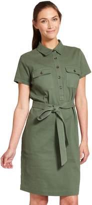 Izod Women's Utility Shirt Dress