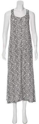 Theory Silk Maxi Dress