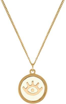 Lee Renee Evil Eye Pendant Necklace