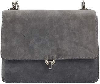 Charles Jourdan Grey Suede Handbag