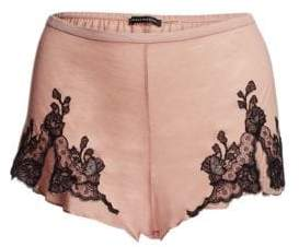 Natori Josie Charlize Lace Embroidered Tap Shorts