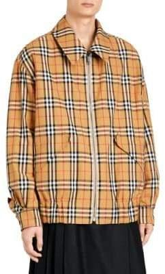 Burberry Camo Check Reverse Harrington Jacket