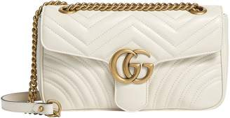Gucci Small Marmont Matelasse Shoulder Bag