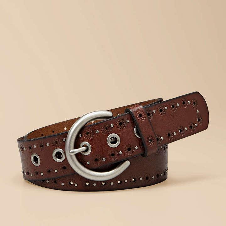 Eyelets and Studs Belt