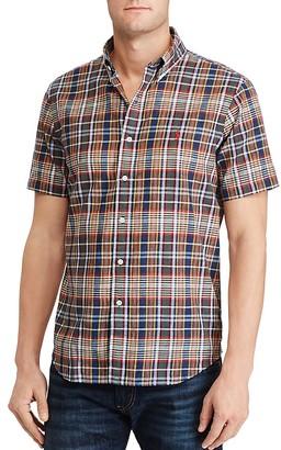 Polo Ralph Lauren Madras Classic Fit Button-Down Shirt $89.50 thestylecure.com