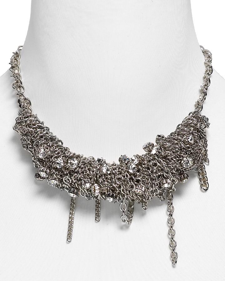 ABS by Allen Schwartz Wrapped Chain Necklace, 16