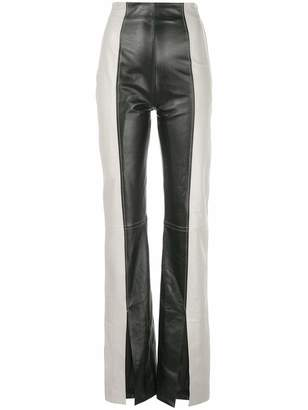 16Arlington Fonda High Waisted Duo Color Flare Pants