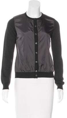 Moncler Wool-Blend Cardigan