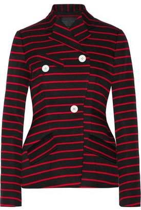 Proenza Schouler Striped Cotton And Wool-Blend Jacquard Blazer