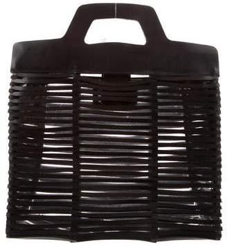 Salvatore Ferragamo Leather Cutout Bag