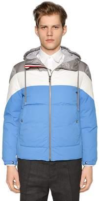 Moncler Gamme Bleu Hooded Nylon Down Jacket