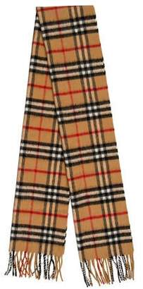 Burberry Wool and Cashmere-Blend Nova Check Scarf