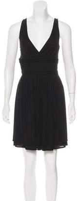 Gucci Sleeveless Pleated Mini Dress