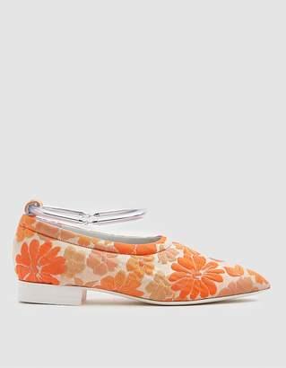Jil Sander Jacquard Floral Flat