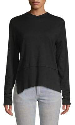 Nanette Lepore Layered High-Low Pullover