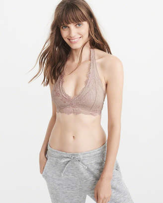 Abercrombie & Fitch Lace Halter Bralette