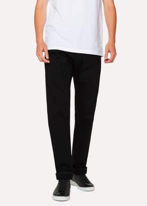 Paul Smith Men's Standard-Fit 12oz 'Super Black Denim' Jeans