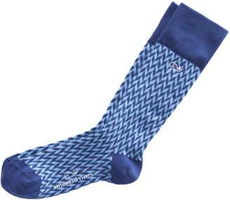 Vineyard Vines Herringbone Socks