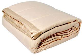 Solid Colored Microfiber Down Alternative Full/Queen Blanket Bedding