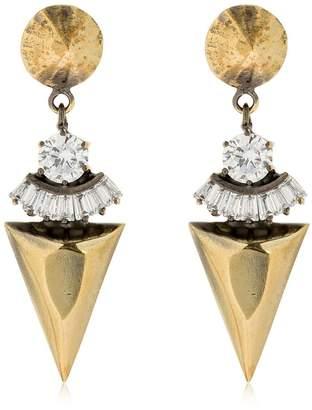 Iosselliani Spike Pendant Earrings