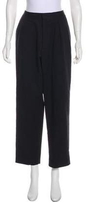 J.W.Anderson High-Rise Straight-Leg Pants