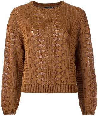 Gig knitted blouse
