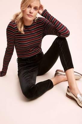 Pilcro And The Letterpress Pilcro High-Rise Skinny Velvet Jeans