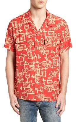 Levi's Vintage Clothing 1940's Hawaiian Shirt